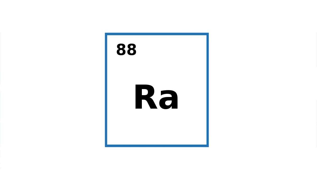 Per cosa sta il simbolo Ra?