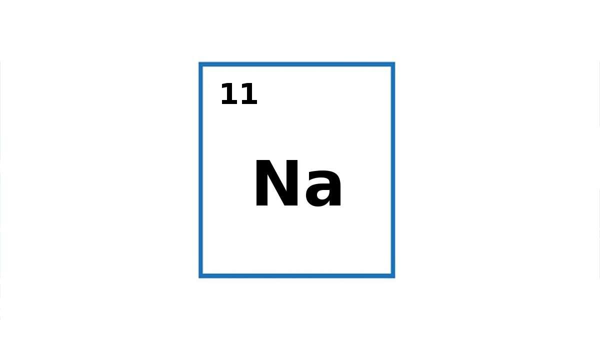 Per cosa sta il simbolo Na?