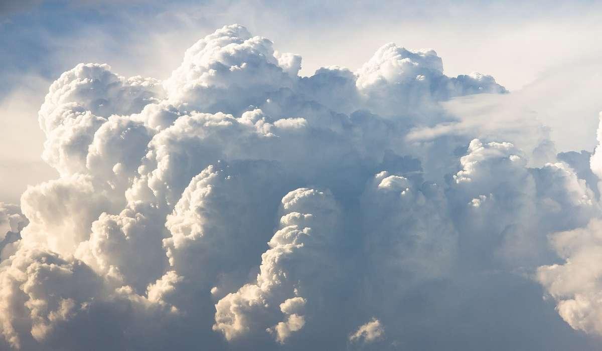 I cumuli sono nuvole:
