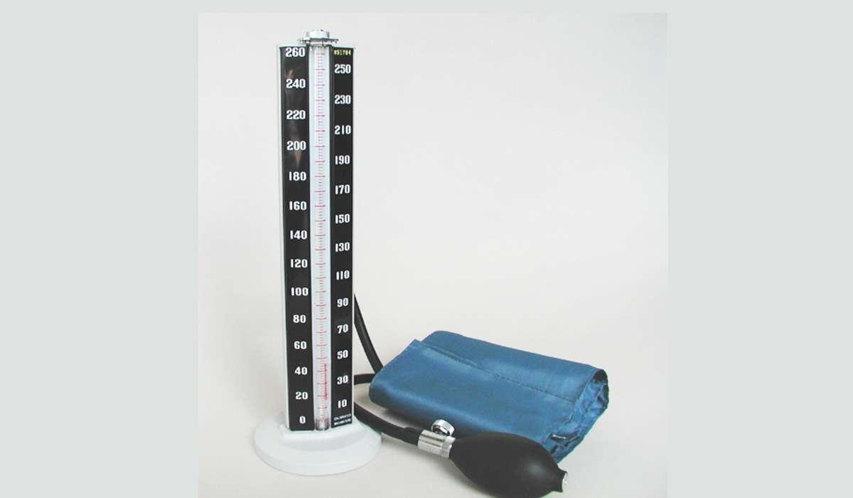 In una lettura della pressione sanguigna, i numeri rappresentano unità di mercurio.