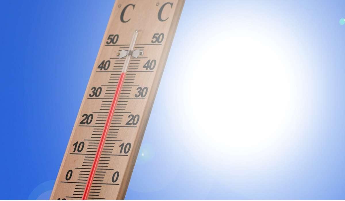Qual il valore di temperatura massima mai registrato d'estate?