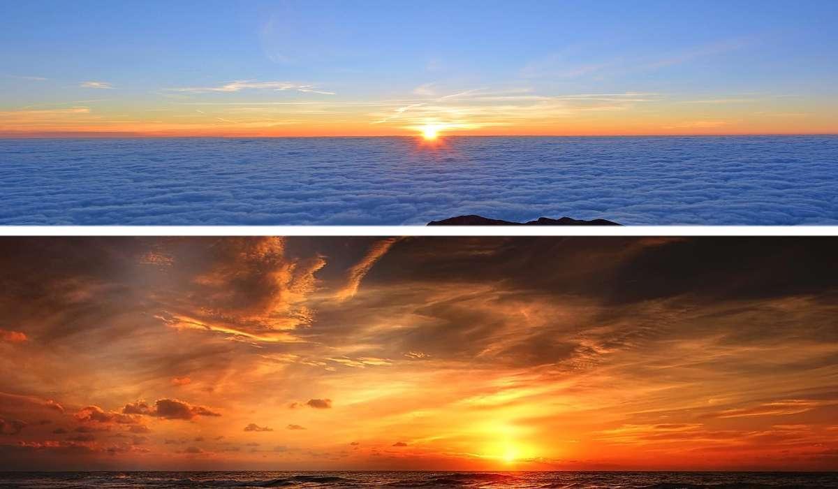 Nel giorno dell'equinozio il Sole sorge esattamente a Est e tramonta esattamente a Ovest.