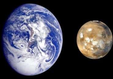 distanza Terra-Marte: comparazione tra i due pianeti