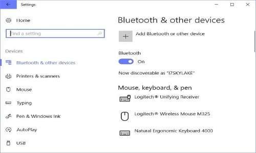 Dove attivare il Bluetooth e gestirne le impostazioni su windows