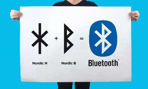 il simbolo del Bluetooth deriva dal re scandinavo del decimo secolo Harald Blåtand, in particolare dalle sue iniziali in rune antiche