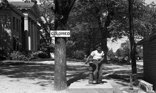 Discriminazione razziale verso la popolazione afro-americana