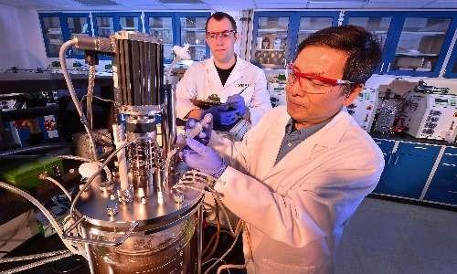 inserimento dell'inoculo nei bioreattori