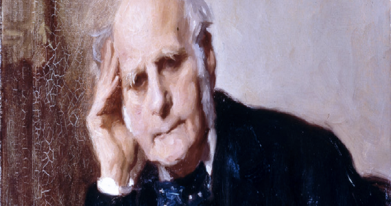 Ritratto d'epoca di Francis Galton