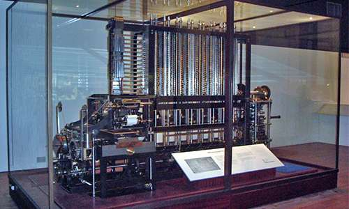 prototipo macchina Babbage a cui lavorò ada lovelace