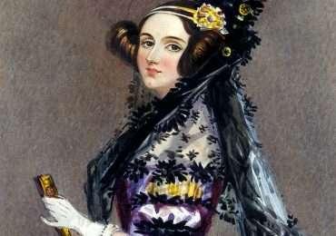 Ritratto a colori dell'ottocento di Ada Lovelace.