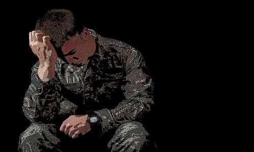 Il disturbo mentale da stress post traumatico è usuale nei soldati, inserito nel DSM, causato da situazioni stressanti o traumatiche. E' importante il supporto di psichiatri e della rete sociale.