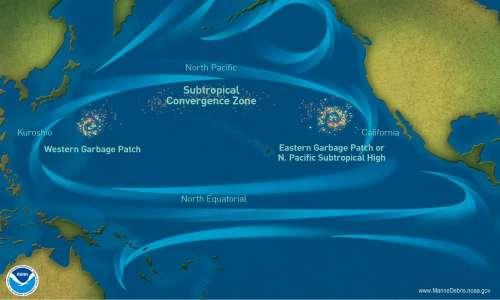 L'isola di plastica è il più grande ammasso di rifiuti oceanici del mondo; l'obiettivo di Boyan Slat è di rimuoverla completamente.