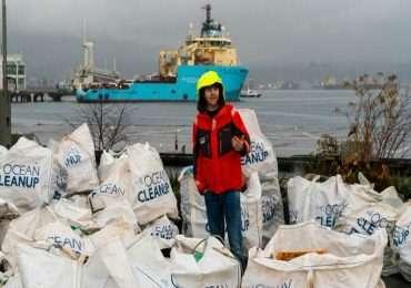 Ripulire gli oceani dalla plastica è l'obiettivo dell'organizzazione The Ocean Cleanup, fondata da Boyan Slat.
