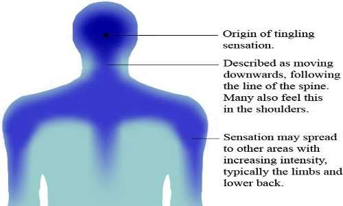 ASMR cos'è? sensazione di formicolio nel corpo di chi ne fa esperienza.