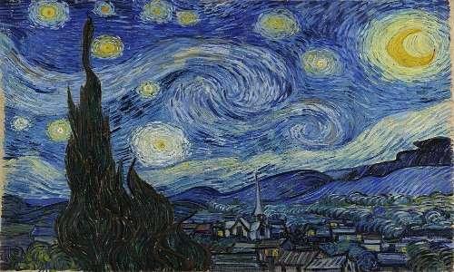 Van Gogh e genio e follia: disturbo bipolare e forse schizofrenia.
