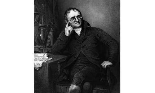 John Dalton propose la formula di struttura dell'etilene nel 1806.