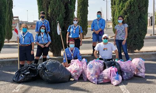 Tra i numerosi volontari siciliani che hanno deciso di dare il proprio contributo in occasione di Save the Planet, c'è stato anche un gruppo di Niscemi (CL).