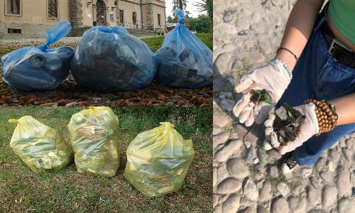 Anche volontari di Olgiate Comasco (CO), Tregasio (MB) e Verona hanno partecipato a Save the Planet.