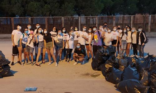 I volontari di Barletta che hanno partecipato a Save the Planet sono riusciti a raccogliere e differenziare una grande quantità di rifiuti.