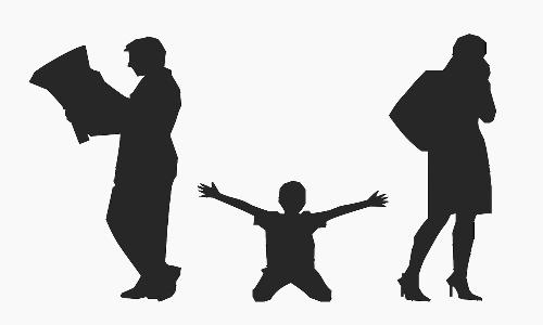 La sindrome da alienazione parentale colpisce maggiormente le coppie in via di separazione e consiste in un problema relazionale tra genitori e figli.
