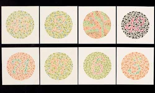 EnChroma Ishihara test: viene eseguito per verificare se il soggetto è daltonico e da quale tipo ne è eventualmente affetto.
