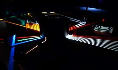 Cos'è la fibra ottica, spiegato attraverso un setup ottico