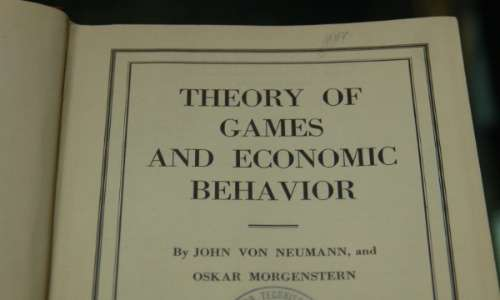 Libro sulla teoria dei giochi: theory of games and economic behavior