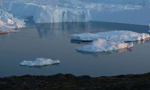 Questi potrebbero essere gli effetti del innalzamento delle temperature sulla calotta glaciale della Groenlandia