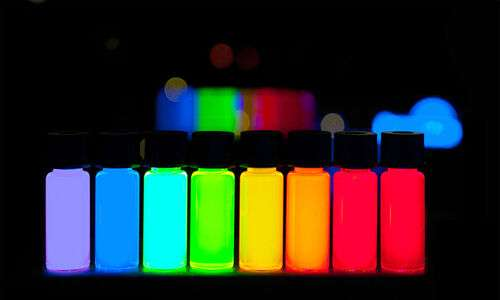 quantum dots e fotoluminescenza del legno.