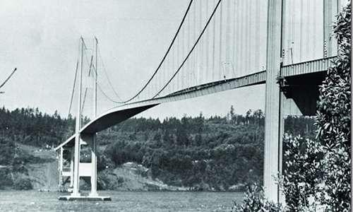 Oscillazioni torsionali del ponte di Tacoma