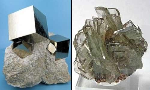 Anello di Gravesande: confronto tra due cristalli, uno isotropo e uno anisotropo.