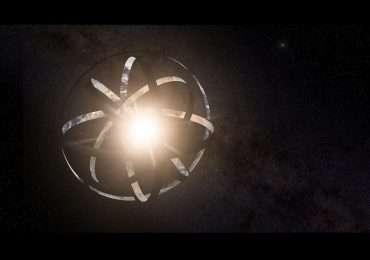 Sfera di Dyson: una megastruttura per raccogliere tutta l'enorme quantità di energia proveniente da una stella.